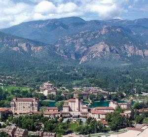Broadmoor hotel in Colorado Springs, Colorado